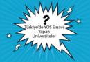Türkiye'de YÖS Sınavı Yapan Üniversiteler